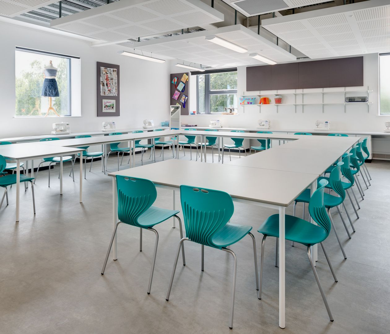 Independent Schools, Westcountry Group ergonomic classroom furniture