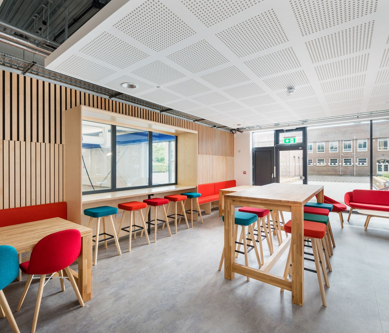 Independent Schools, Westcountry Group school dining area